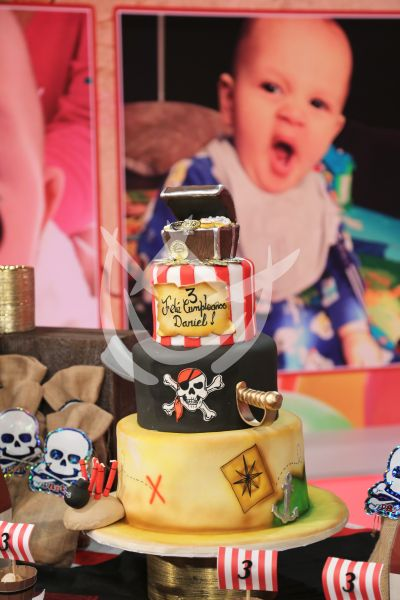 Pastel de pirata