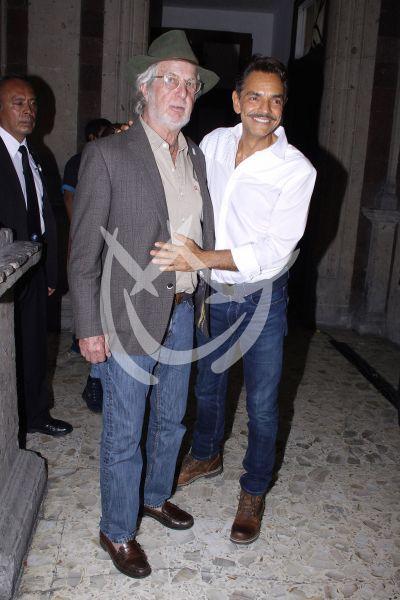 Hugo Stiglitz y Eugenio Derbez