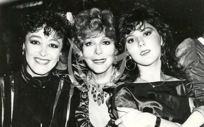 Silvia Pinal e hijas Sylvia y Viridiana