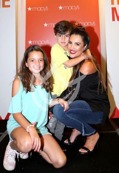 Gaby Espino es feliz con sus hijos Nico y Oriana