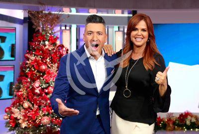 María Celeste y Jorge Bernal prenden la Navidad en SLS