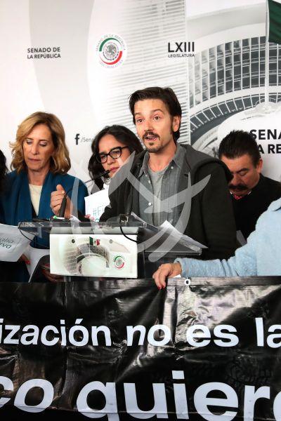 Diego Luna quiere Seguridad sin Guerra