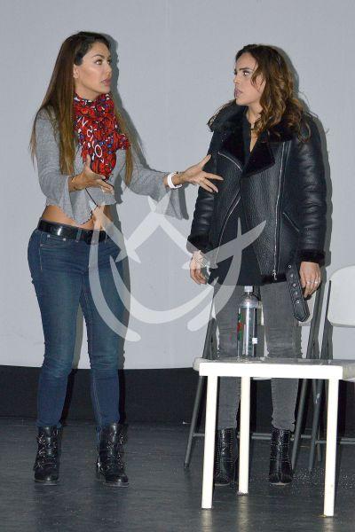 Sara Corrales y Ninel Conde a ensayo
