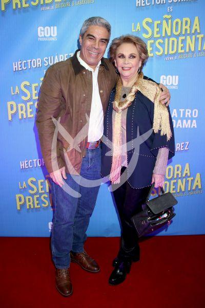 Luis Gatica y Norma Herrera