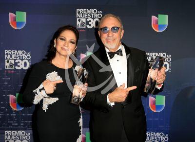 Los Estefan, Laura Pausini y más ganadores y backstage PLN