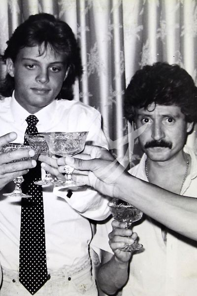 Luis Miguel y papá Luisito Rey