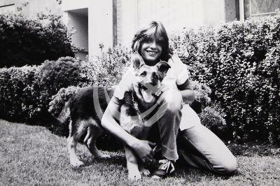 Luis Miguel con su perro