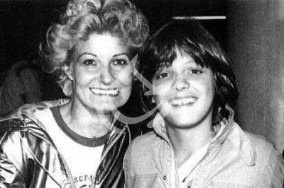 Luis Miguel y mamá Marcela