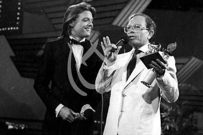 Luis Miguel y Raúl Velasco