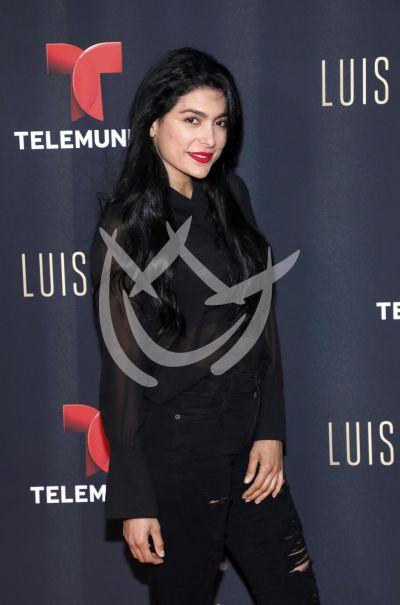 Vanessa Lyon con Luis Miguel