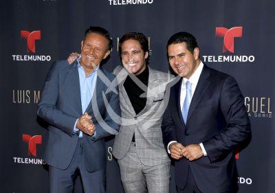Diego Boneta con Luis Miguel