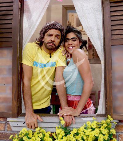 Eugenio Derbez visita DA y se encuentra con Mela y más