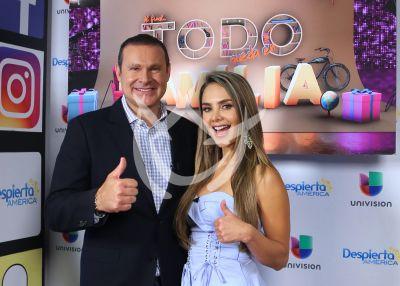 Ximena Córdoba regresa a la TV con Alan Tacher