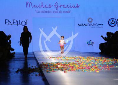 Hija de Adamari López en MFW