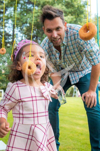 Patricio Borghetti e hija Gia y más celebran a papá