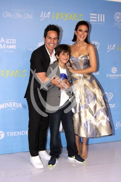 Mauricio, Emiliano y Fernanda en Ya Veremos