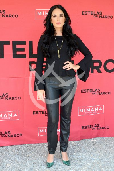 Ximena Herrera en Estelas del Narco
