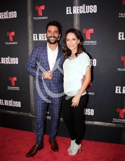 Ana Claudia Talancón e Ignacio Serricchio en El Recluso