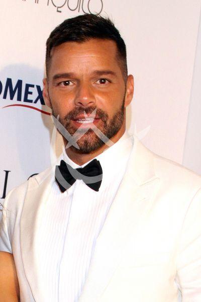 Eva Longoria y Ricky Martin de Gala en Mx por Puerto Rico