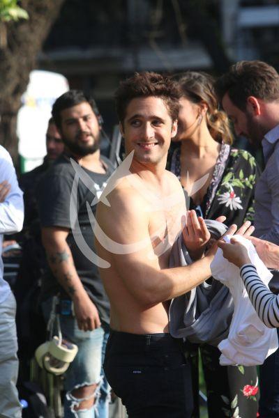 ¡Cuando calienta el sol! Diego Boneta en Buenos Aires