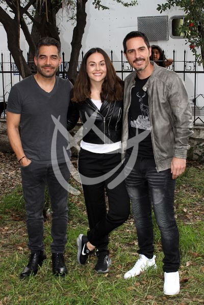 Zuria Vega con Mauricio y Omar ¡click! ¿Y Cómo Es Él?
