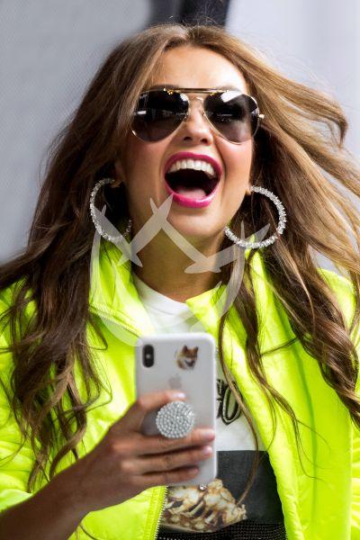 Thalía se oye, se escucha y se siente en Mx