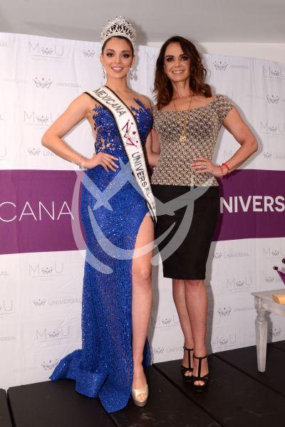 Lupita Jones llevará a Andrea Toscano a Miss Universo