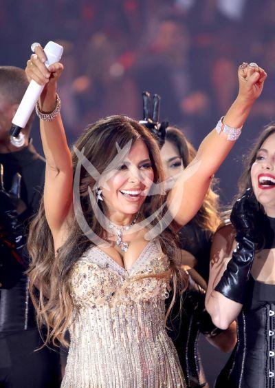 Gloria Trevi de semifinal en Nuestra Belleza Latina