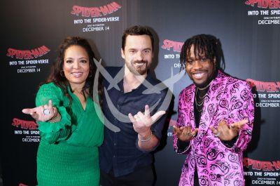 Jake, Shameik y Luna son las voces detrás de Spiderman into de Spiderverse