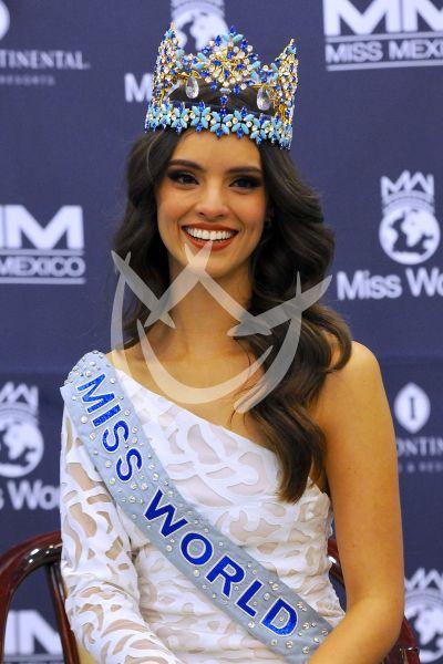 Vanessa Ponce de Miss Mundo a México