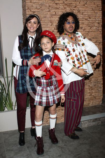 Andrea, Moisés y Camila De Diez
