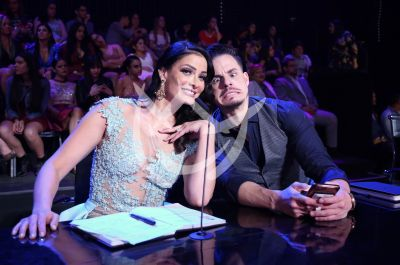 Dayanara Torres y Casper Smart en MQB All Stars