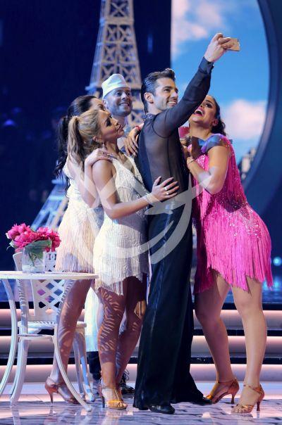 Toni Costa y Clarissa Molina ¡selfies! en MQB All Stars 5