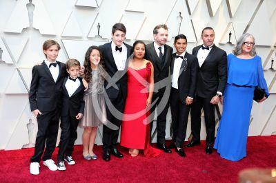 El elenco de Roma en los Oscars