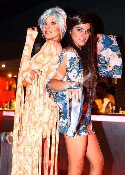 Angelique Boyer y Maite Perroni a los 70s