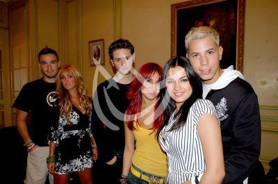Maite Perroni con RBD en Madrid