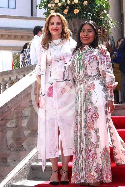 Yalitza Aparicio y Marina de Tavira Importan