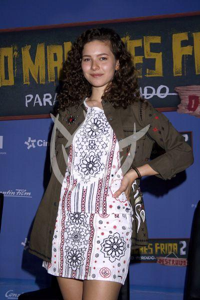 Carla Adell en No Manches Frida 2