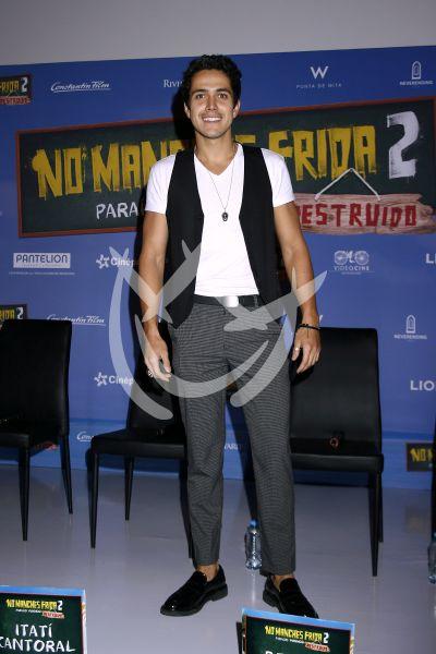 Mario Morán en No Manches Frida 2