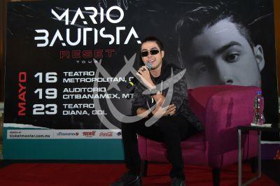 Mario Bautista da Reset