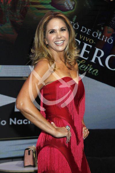 Lucero es Brasileira y fashion