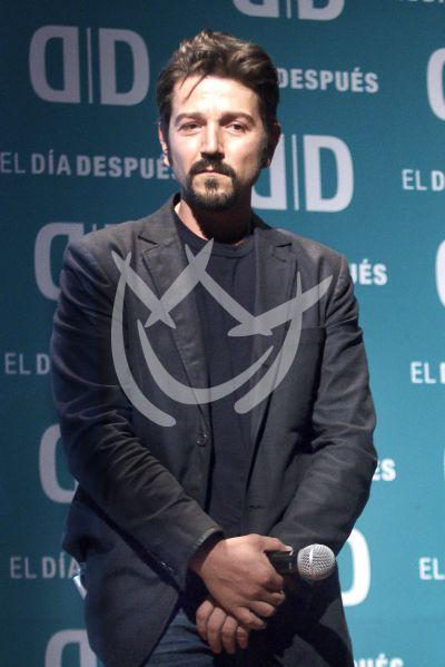 Diego Luna actúa con El Día Después