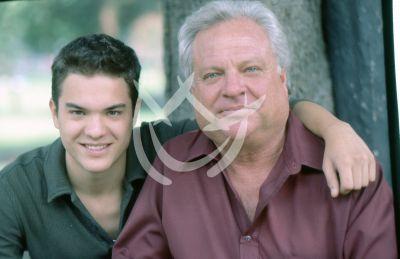 Kuno Becker con su papá, 1997