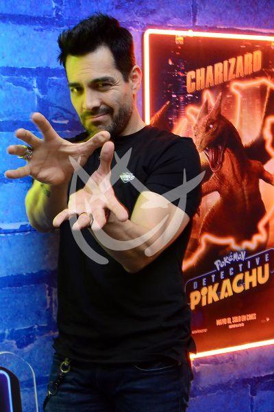 Omar Chaparro en Detective Pikachu
