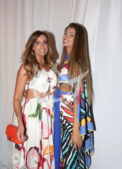 Lili Estefan e hija Lina Teresa