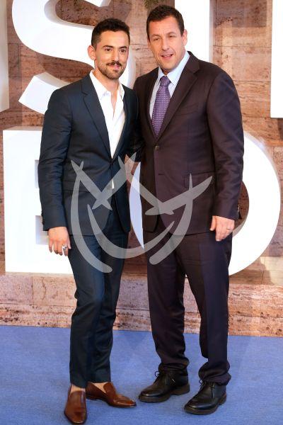 Luis Gerardo Méndez y Adam Sandler a Bordo