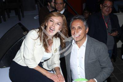 Laura Flores y Manuel Negrete