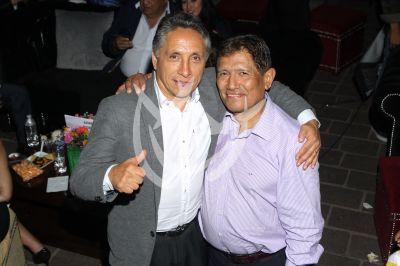 Manuel Negrete y Juan Osorio