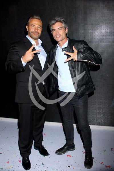 Sergio Sendel y Victor González en Juntos el Corazón