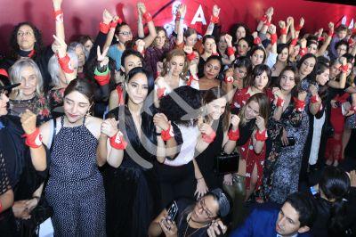Actrices protestan en el Ariel